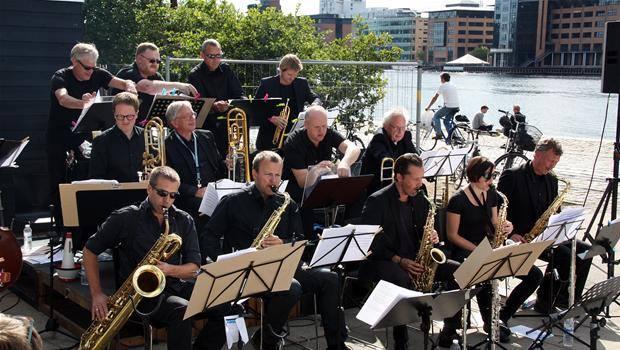 Foto fra tidligere koncert på Bryggen